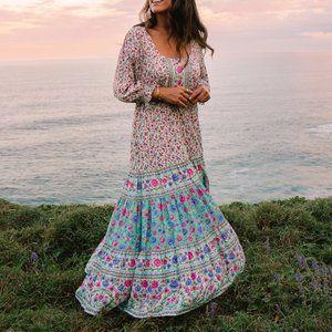 ARNHEM Phoebe Midi Dress in Sage RRP$239
